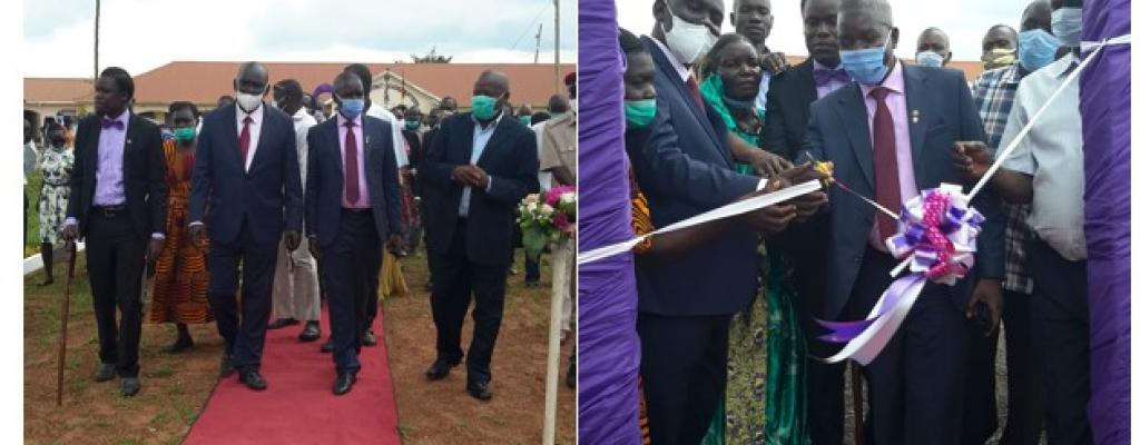 Handover of Chairman's garden's at the District Headquarters